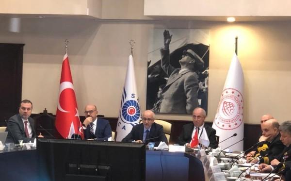 Denizcilik Koordinasyon Kurulu toplantısı yapıldı.